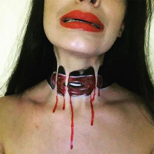 20-Very-Scary-Halloween-Neck-Makeup-Looks-Styles-Ideas-2019-6