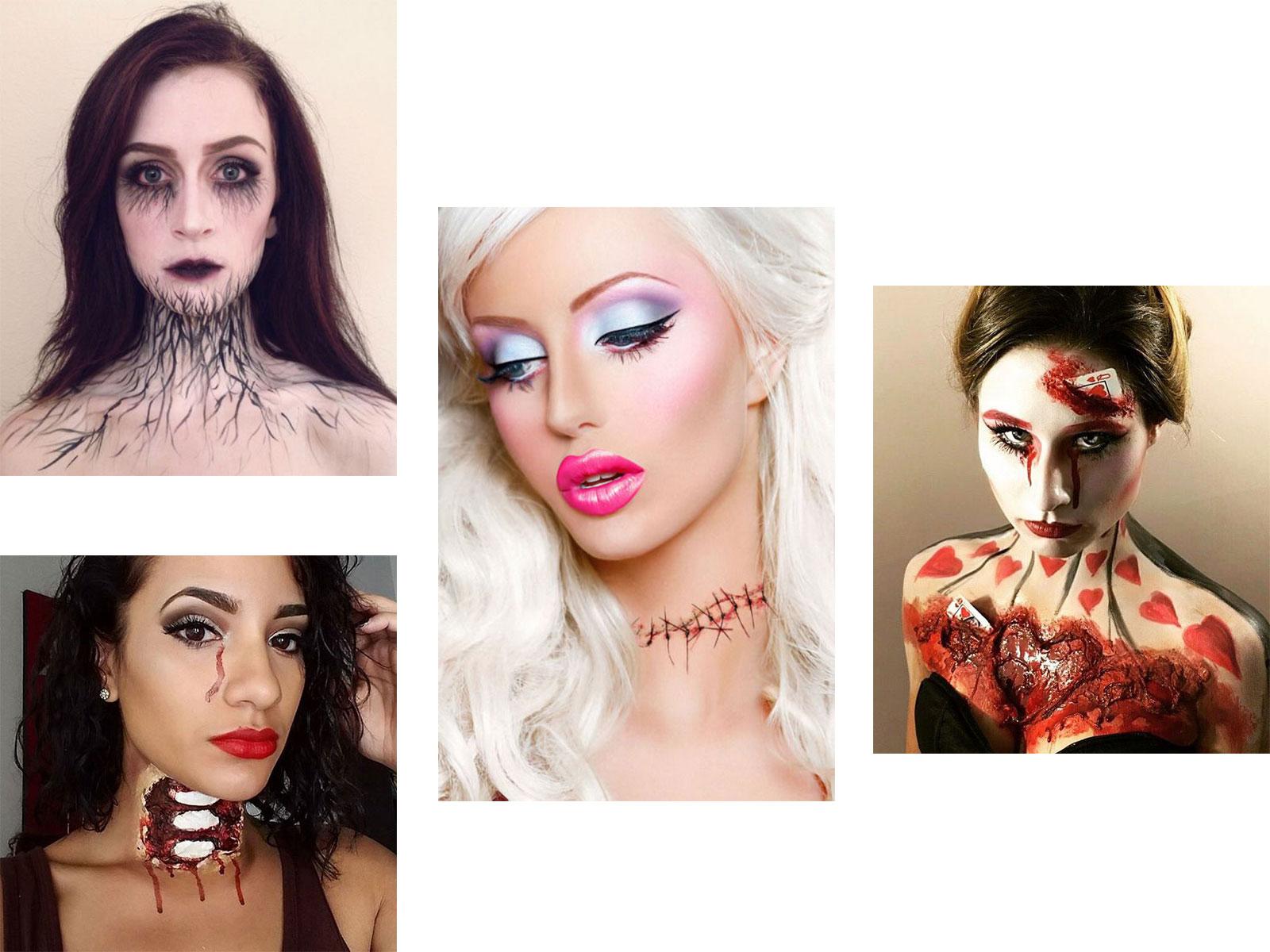20-Very-Scary-Halloween-Neck-Makeup-Looks-Styles-Ideas-2019-F
