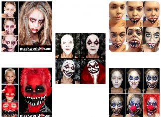 25-Best-Halloween-Face-Makeup-Tutorials-Tricks-Tips-For-Beginners-2019-f