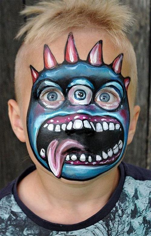 25-Best-Halloween-Face-Paint-Ideas-Looks-For-Kids-Men-Women-2019-1