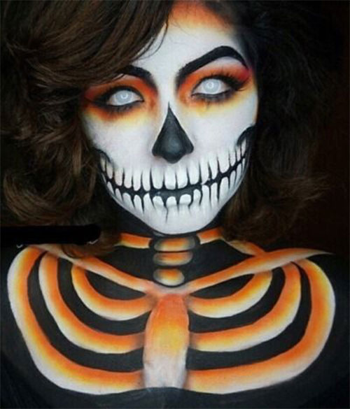 25-Best-Halloween-Face-Paint-Ideas-Looks-For-Kids-Men-Women-2019-11