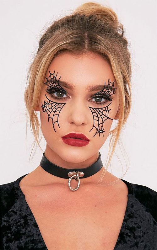 25-Best-Halloween-Face-Paint-Ideas-Looks-For-Kids-Men-Women-2019-12
