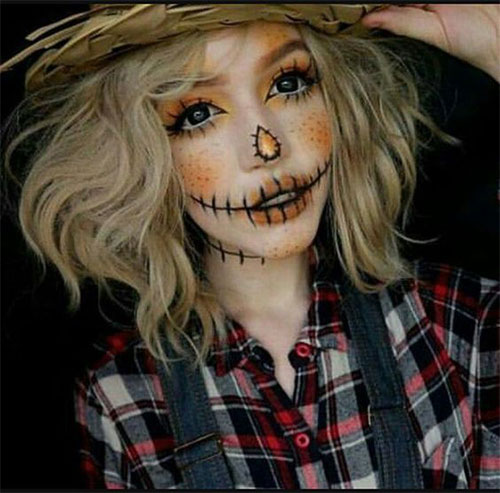 25-Best-Halloween-Face-Paint-Ideas-Looks-For-Kids-Men-Women-2019-17