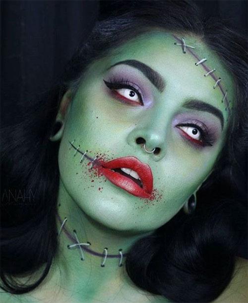 25-Best-Halloween-Face-Paint-Ideas-Looks-For-Kids-Men-Women-2019-22