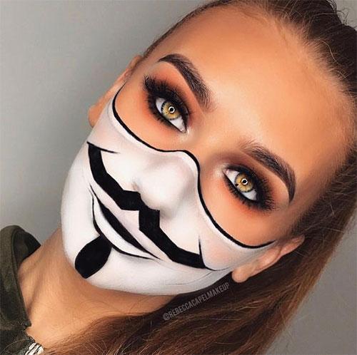 25-Best-Halloween-Face-Paint-Ideas-Looks-For-Kids-Men-Women-2019-23