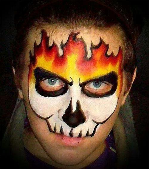 25-Best-Halloween-Face-Paint-Ideas-Looks-For-Kids-Men-Women-2019-28