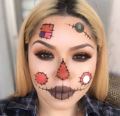 25-Last-Minute-Very-Easy-Halloween-Makeup-Looks-Ideas-2019-1