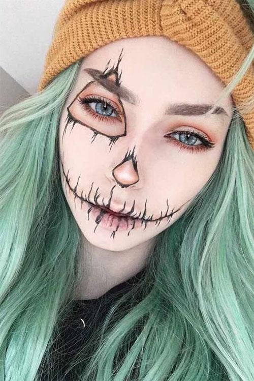 25-Last-Minute-Very-Easy-Halloween-Makeup-Looks-Ideas-2019-10