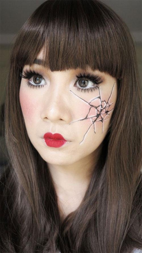 25-Last-Minute-Very-Easy-Halloween-Makeup-Looks-Ideas-2019-14