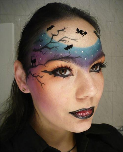 25-Last-Minute-Very-Easy-Halloween-Makeup-Looks-Ideas-2019-18