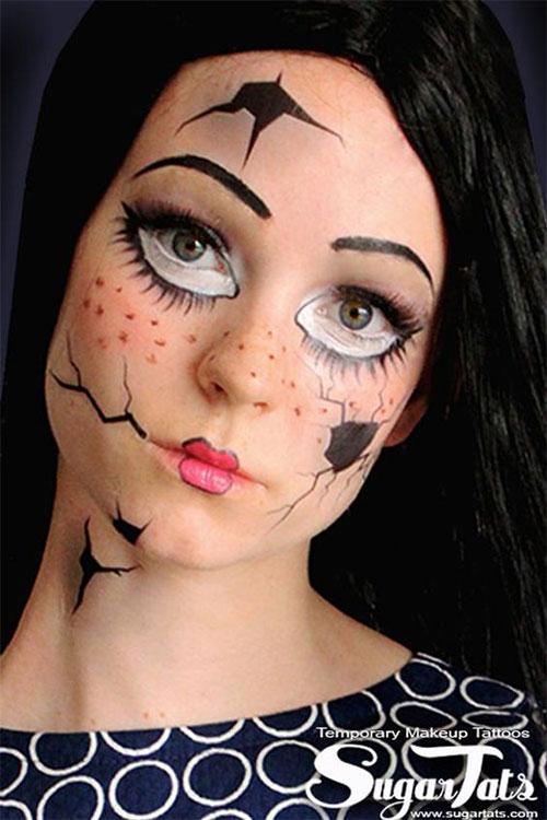 25-Last-Minute-Very-Easy-Halloween-Makeup-Looks-Ideas-2019-19