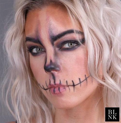 25-Last-Minute-Very-Easy-Halloween-Makeup-Looks-Ideas-2019-23