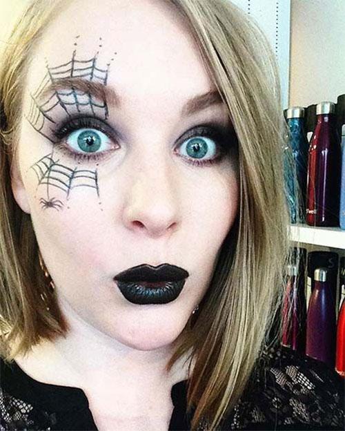 25-Last-Minute-Very-Easy-Halloween-Makeup-Looks-Ideas-2019-24