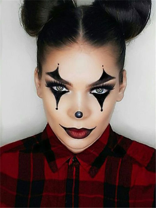 Halloween Makeup Ideas 2019 Scary.25 Last Minute Very Easy Halloween Makeup Looks Ideas