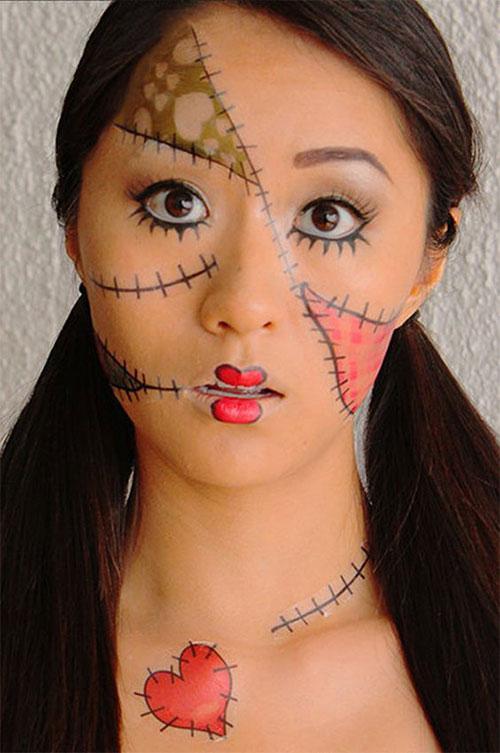 25-Last-Minute-Very-Easy-Halloween-Makeup-Looks-Ideas-2019-7