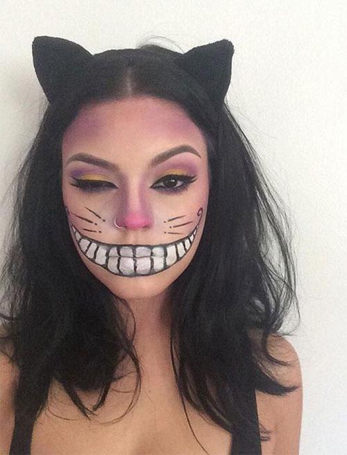 25-Last-Minute-Very-Easy-Halloween-Makeup-Looks-Ideas-2019-8