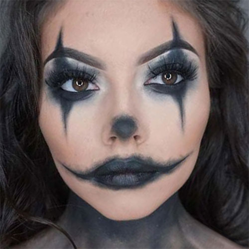 25+ Last Minute Very Easy Halloween Makeup Looks \u0026 Ideas
