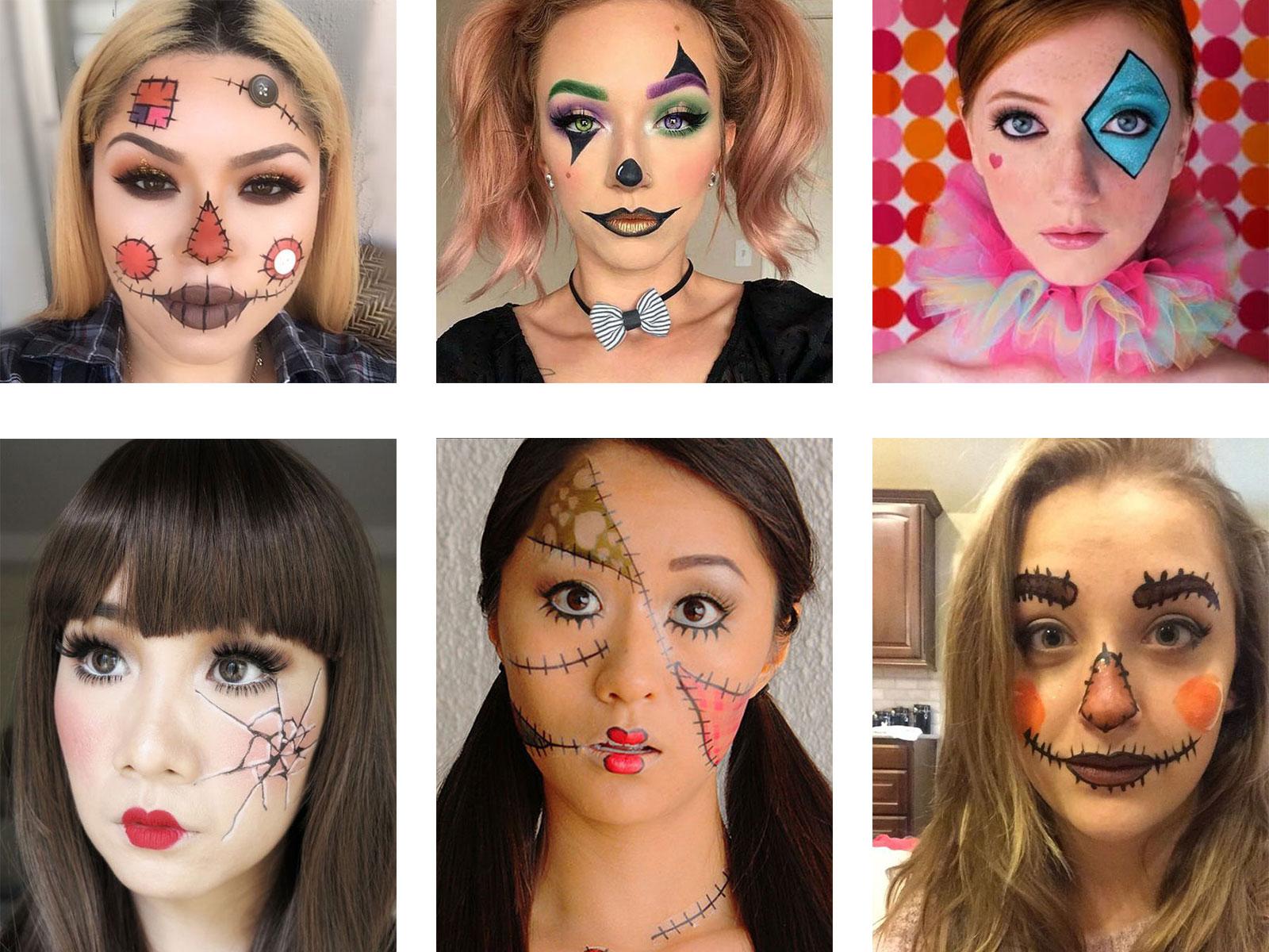 25 Last Minute Very Easy Halloween Makeup Looks Ideas 2019 Idea Halloween