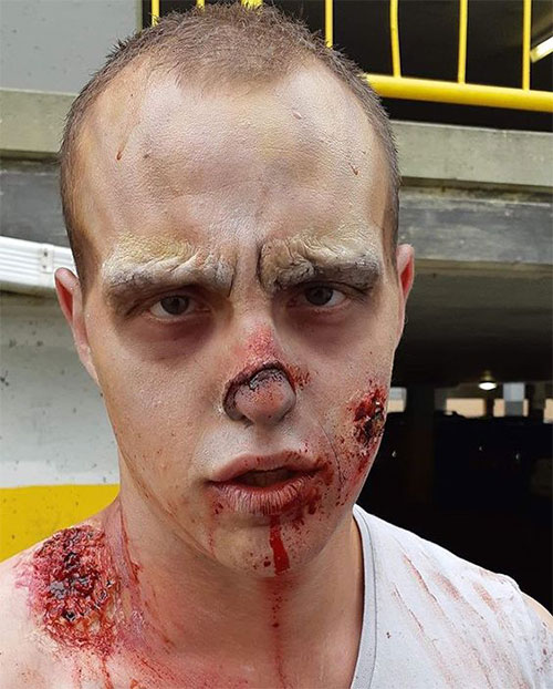 30-Very-Scary-The-Walking-Dead-Halloween-Face-Makeup-Ideas-Looks-2019-21