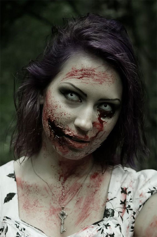 30-Very-Scary-The-Walking-Dead-Halloween-Face-Makeup-Ideas-Looks-2019-5