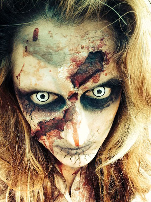 30-Very-Scary-The-Walking-Dead-Halloween-Face-Makeup-Ideas-Looks-2019-6