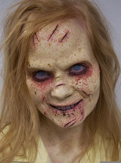 30-Very-Scary-The-Walking-Dead-Halloween-Face-Makeup-Ideas-Looks-2019-8