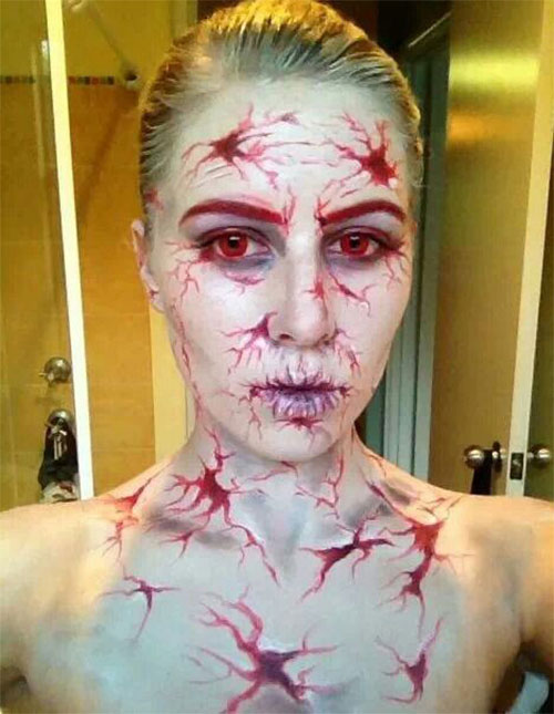 30-Very-Scary-The-Walking-Dead-Halloween-Face-Makeup-Ideas-Looks-2019-9