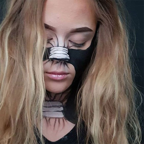 35-Creepy-Crazy-Creative-Halloween-Illusion-Makeup-Looks-Ideas-2019-15