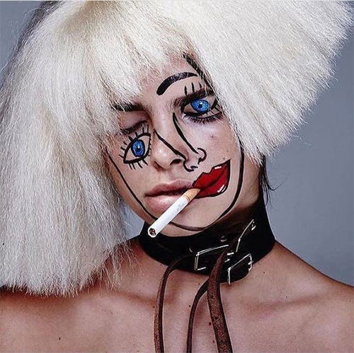 35-Creepy-Crazy-Creative-Halloween-Illusion-Makeup-Looks-Ideas-2019-18