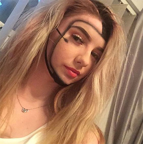 35-Creepy-Crazy-Creative-Halloween-Illusion-Makeup-Looks-Ideas-2019-33