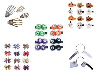 20-Halloween-Hair-Clips-Hair-bows-Headbands-2019-Hair-Accessories-F