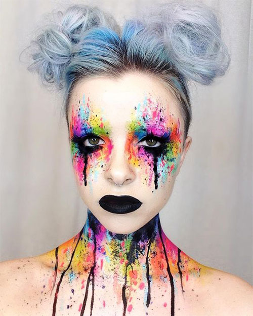 30-Creepy-Creative-Unique-Halloween-Hairstyle-Looks-Ideas-For-Girls-Women-2019-1
