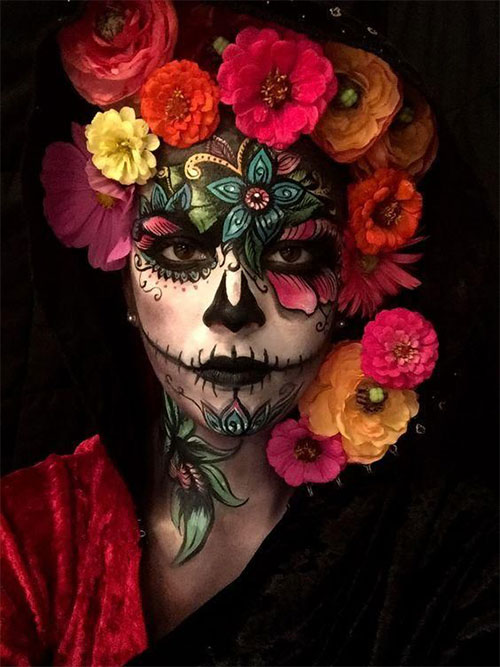 30-Creepy-Creative-Unique-Halloween-Hairstyle-Looks-Ideas-For-Girls-Women-2019-14