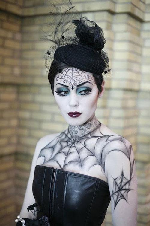 30-Creepy-Creative-Unique-Halloween-Hairstyle-Looks-Ideas-For-Girls-Women-2019-23