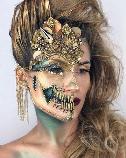 30-Creepy-Creative-Unique-Halloween-Hairstyle-Looks-Ideas-For-Girls-Women-2019-27
