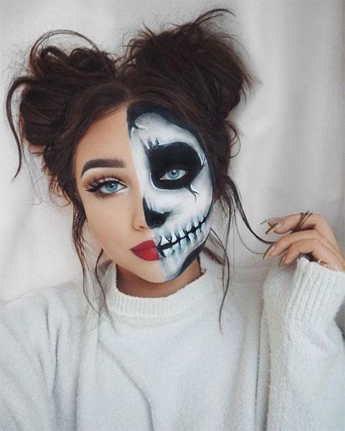 30-Creepy-Creative-Unique-Halloween-Hairstyle-Looks-Ideas-For-Girls-Women-2019-4