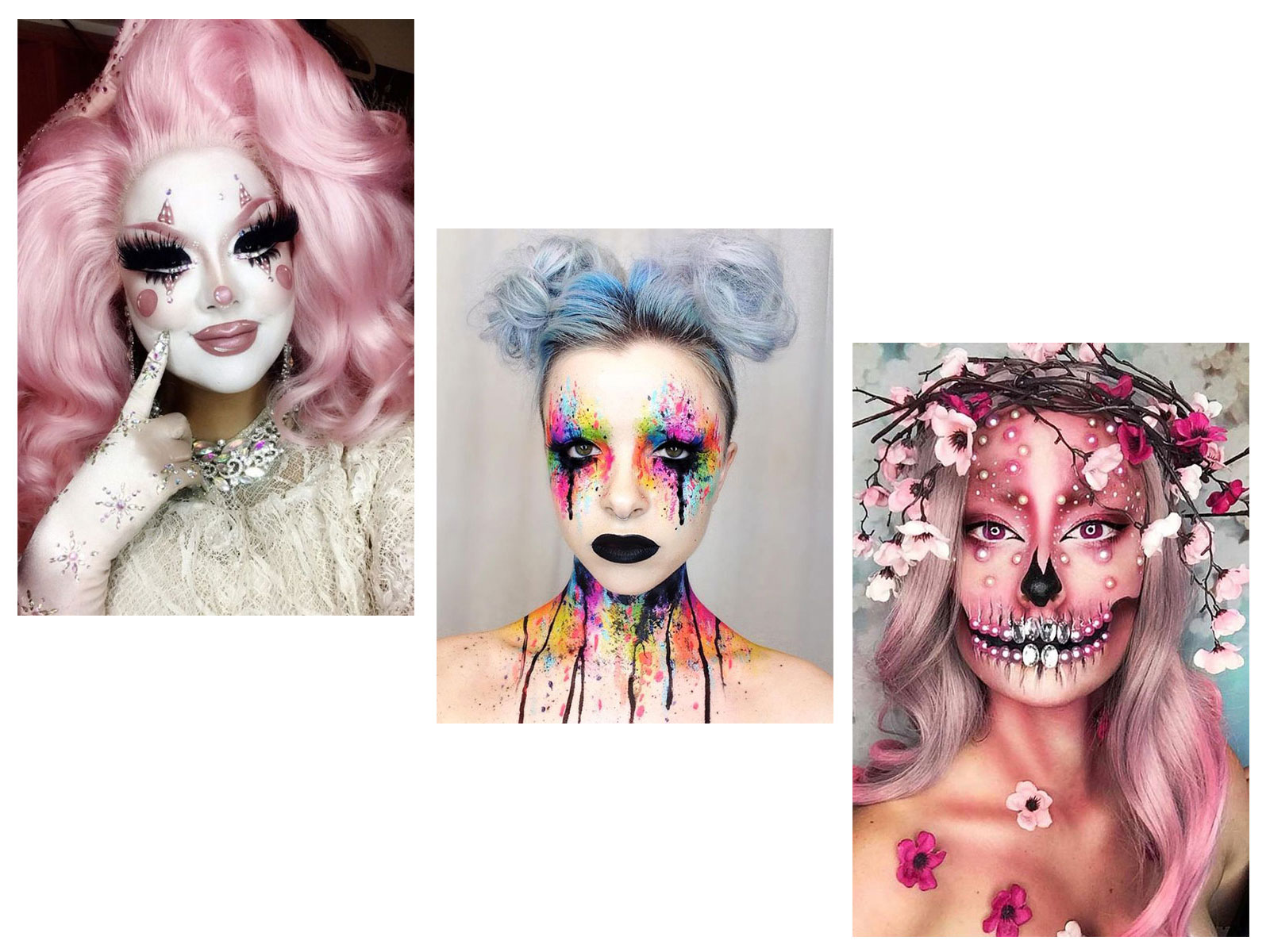 30-Creepy-Creative-Unique-Halloween-Hairstyle-Looks-Ideas-For-Girls-Women-2019-F