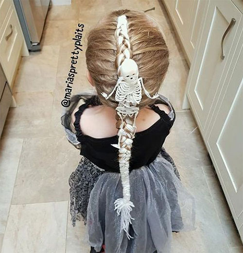 55-Creative-Crazy-Unique-Halloween-Hairstyle-Ideas-Looks-For-Little-Girls-Kids-2019-13