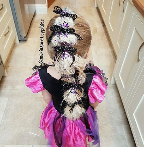 55-Creative-Crazy-Unique-Halloween-Hairstyle-Ideas-Looks-For-Little-Girls-Kids-2019-14