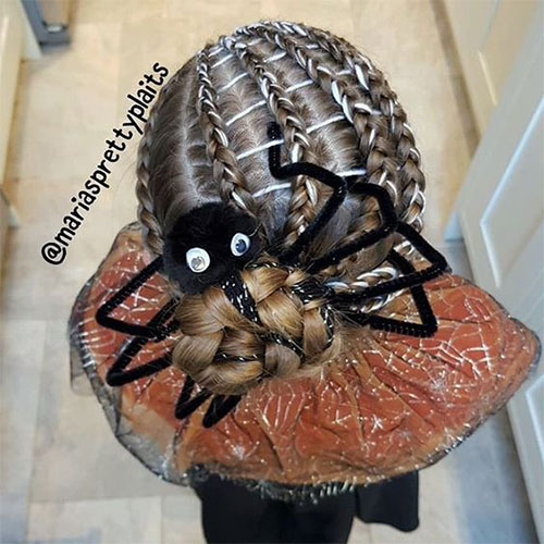 55-Creative-Crazy-Unique-Halloween-Hairstyle-Ideas-Looks-For-Little-Girls-Kids-2019-19