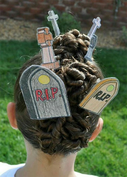 55-Creative-Crazy-Unique-Halloween-Hairstyle-Ideas-Looks-For-Little-Girls-Kids-2019-2