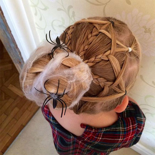 55-Creative-Crazy-Unique-Halloween-Hairstyle-Ideas-Looks-For-Little-Girls-Kids-2019-21