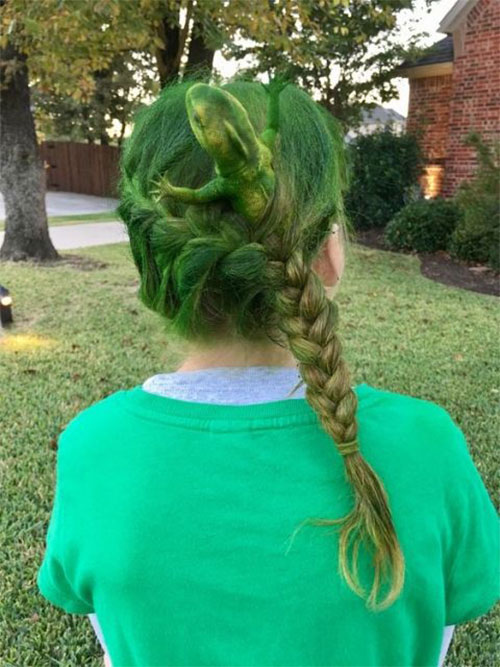 55-Creative-Crazy-Unique-Halloween-Hairstyle-Ideas-Looks-For-Little-Girls-Kids-2019-23