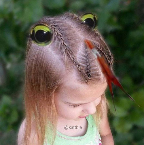 55-Creative-Crazy-Unique-Halloween-Hairstyle-Ideas-Looks-For-Little-Girls-Kids-2019-29