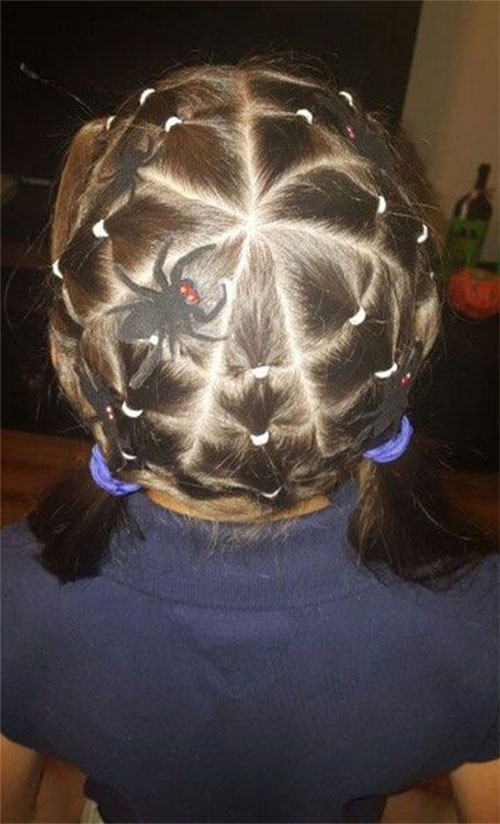 55-Creative-Crazy-Unique-Halloween-Hairstyle-Ideas-Looks-For-Little-Girls-Kids-2019-3