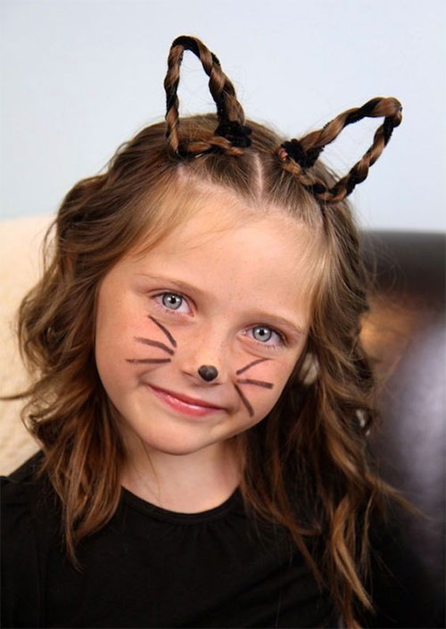55-Creative-Crazy-Unique-Halloween-Hairstyle-Ideas-Looks-For-Little-Girls-Kids-2019-39