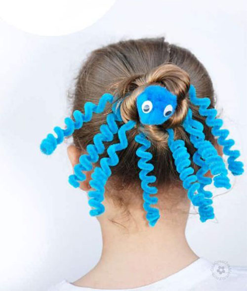 55-Creative-Crazy-Unique-Halloween-Hairstyle-Ideas-Looks-For-Little-Girls-Kids-2019-4