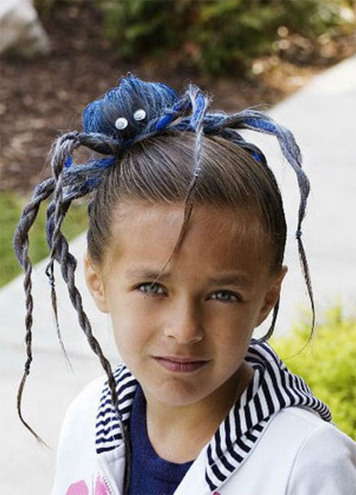 55-Creative-Crazy-Unique-Halloween-Hairstyle-Ideas-Looks-For-Little-Girls-Kids-2019-43