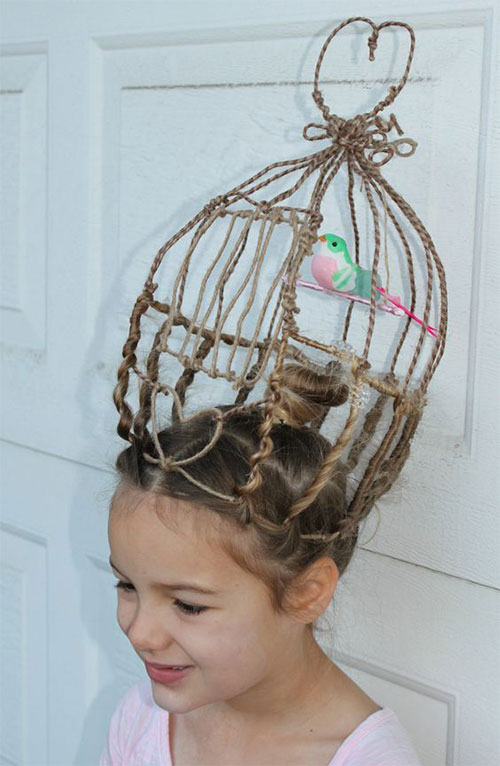 55-Creative-Crazy-Unique-Halloween-Hairstyle-Ideas-Looks-For-Little-Girls-Kids-2019-44
