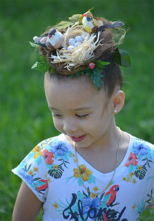 55-Creative-Crazy-Unique-Halloween-Hairstyle-Ideas-Looks-For-Little-Girls-Kids-2019-47